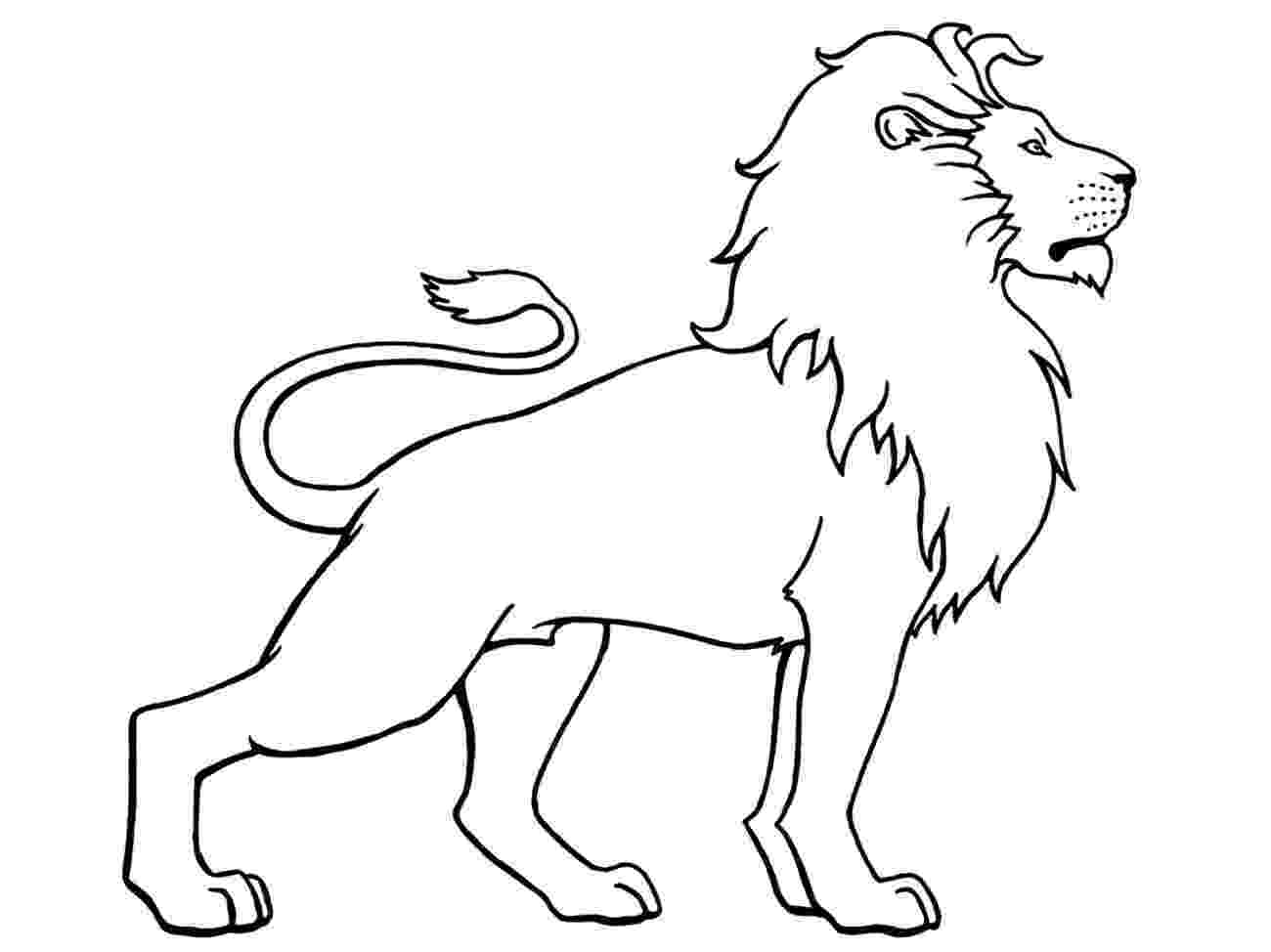 pictures of lions to color free printable lion coloring pages for kids cool2bkids to lions color pictures of