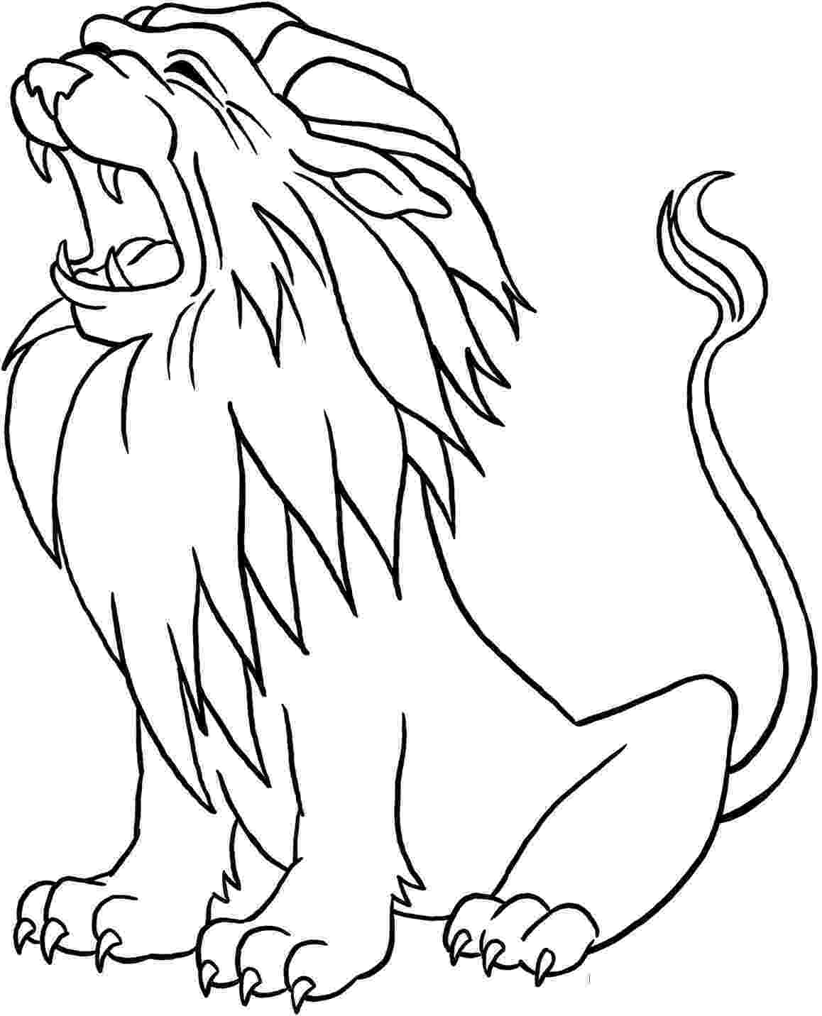 pictures of lions to color lion free printable templates coloring pages lions color of to pictures