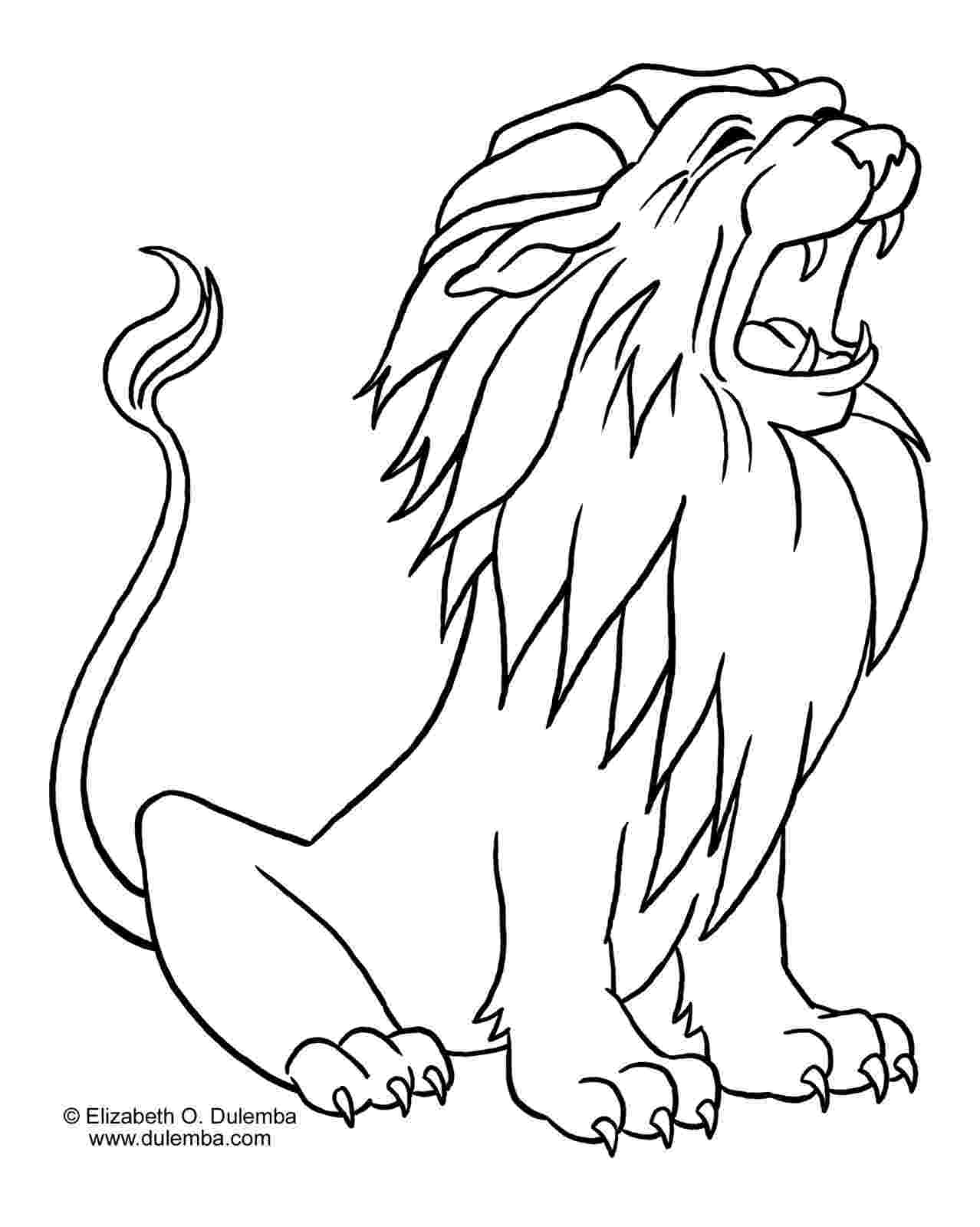 pictures of lions to color lion free to color for children lion kids coloring pages pictures of to color lions