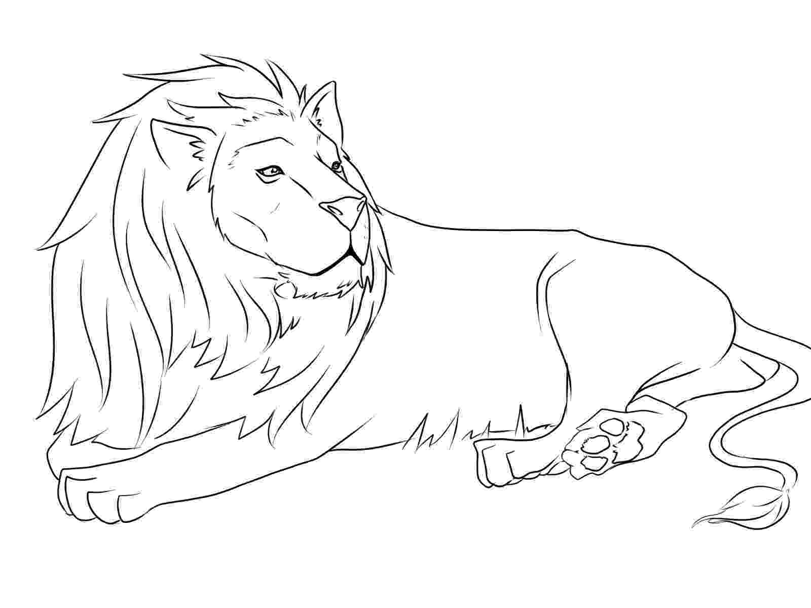 pictures of lions to color lovely cartoon lion coloring page free printable lions color to of pictures