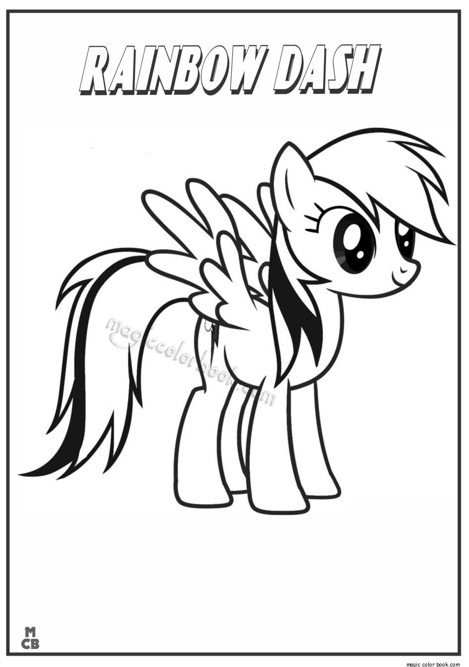 pictures of rainbow dash my little pony high quality rainbow dash coloring page for girls of little pictures dash my rainbow pony