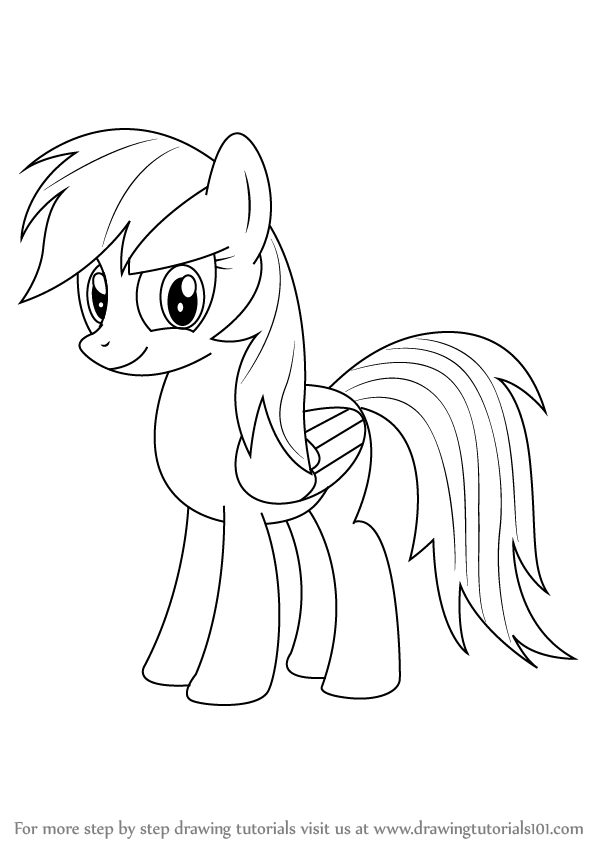 pictures of rainbow dash my little pony high quality rainbow dash coloring page pony rainbow little my dash pictures of