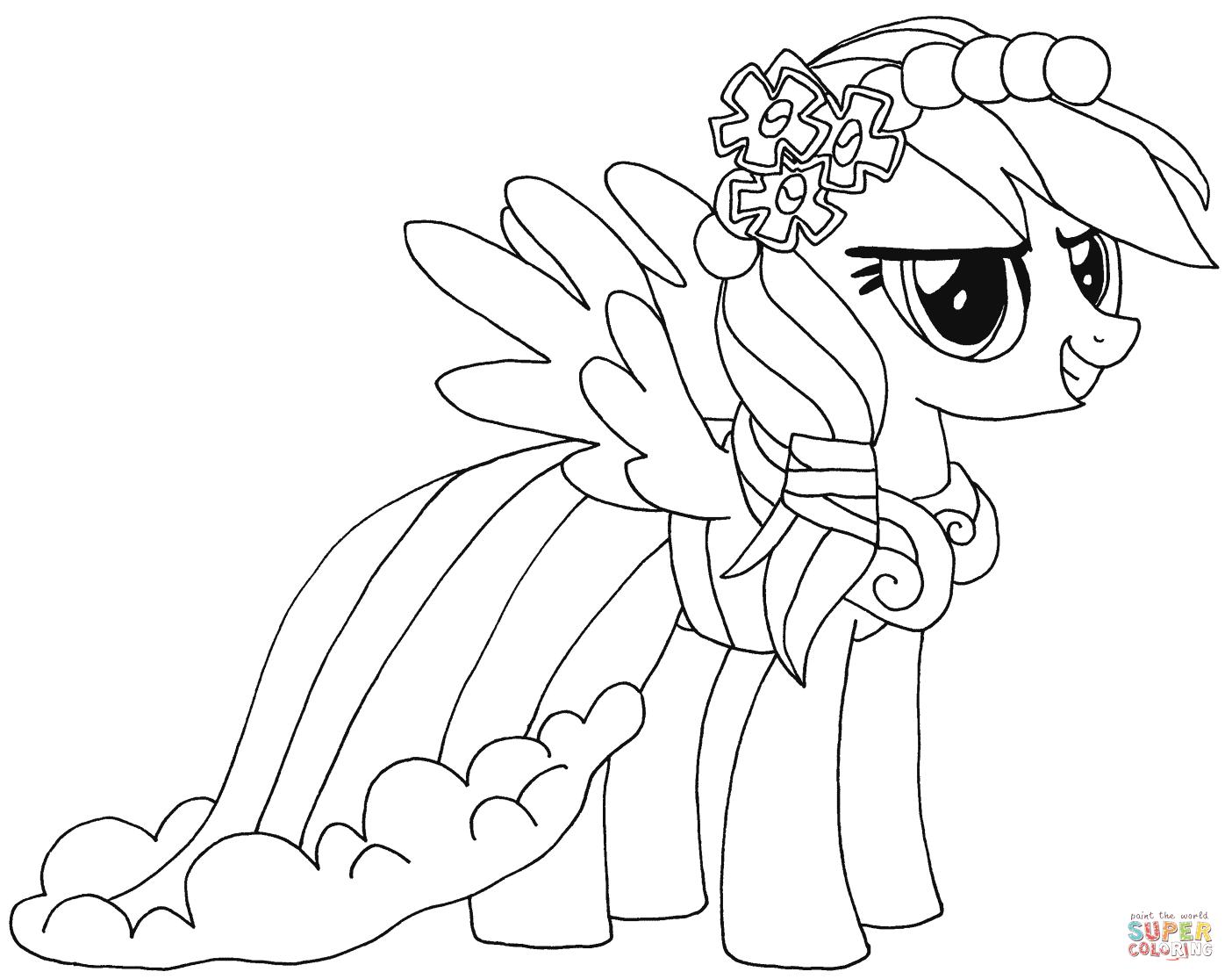 pictures of rainbow dash my little pony my little pony rainbow dash coloring pages free download pictures rainbow little my pony of dash