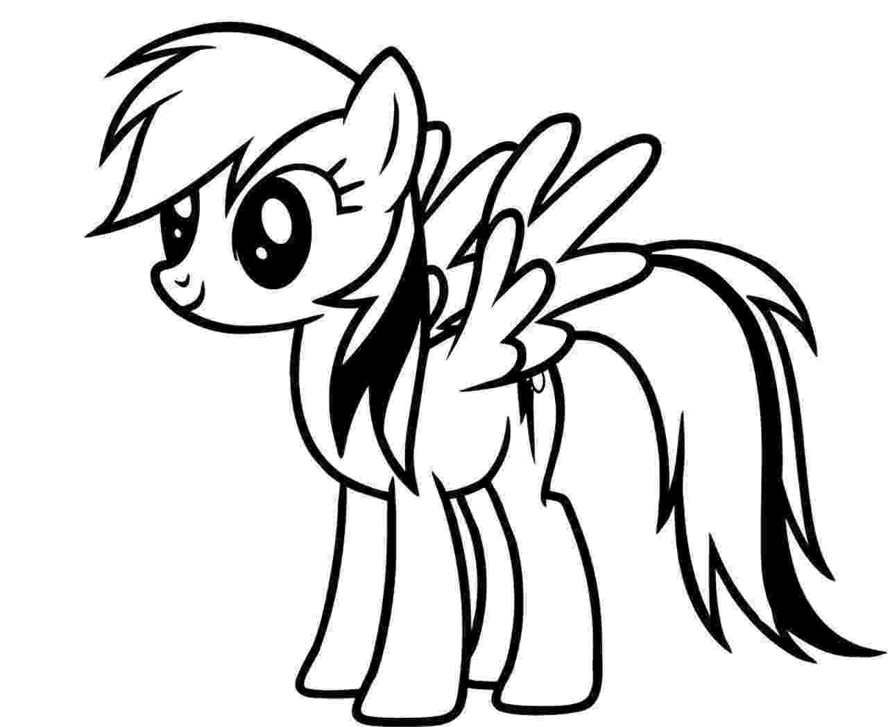 pictures of rainbow dash my little pony my little pony rainbow dash coloring pages little pony of dash pictures rainbow my