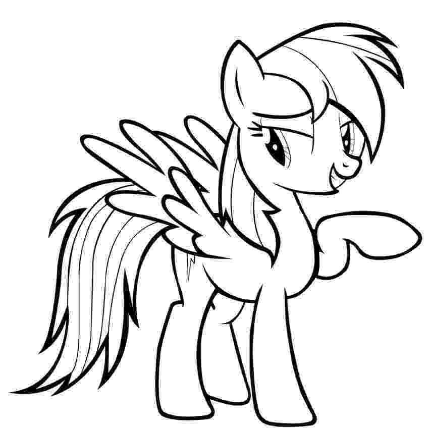 pictures of rainbow dash my little pony rainbow dash coloring pages team colors of pictures rainbow little pony dash my