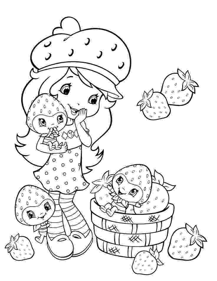 pictures of strawberry shortcake 286 best images about coloring cartoons on pinterest strawberry shortcake pictures of