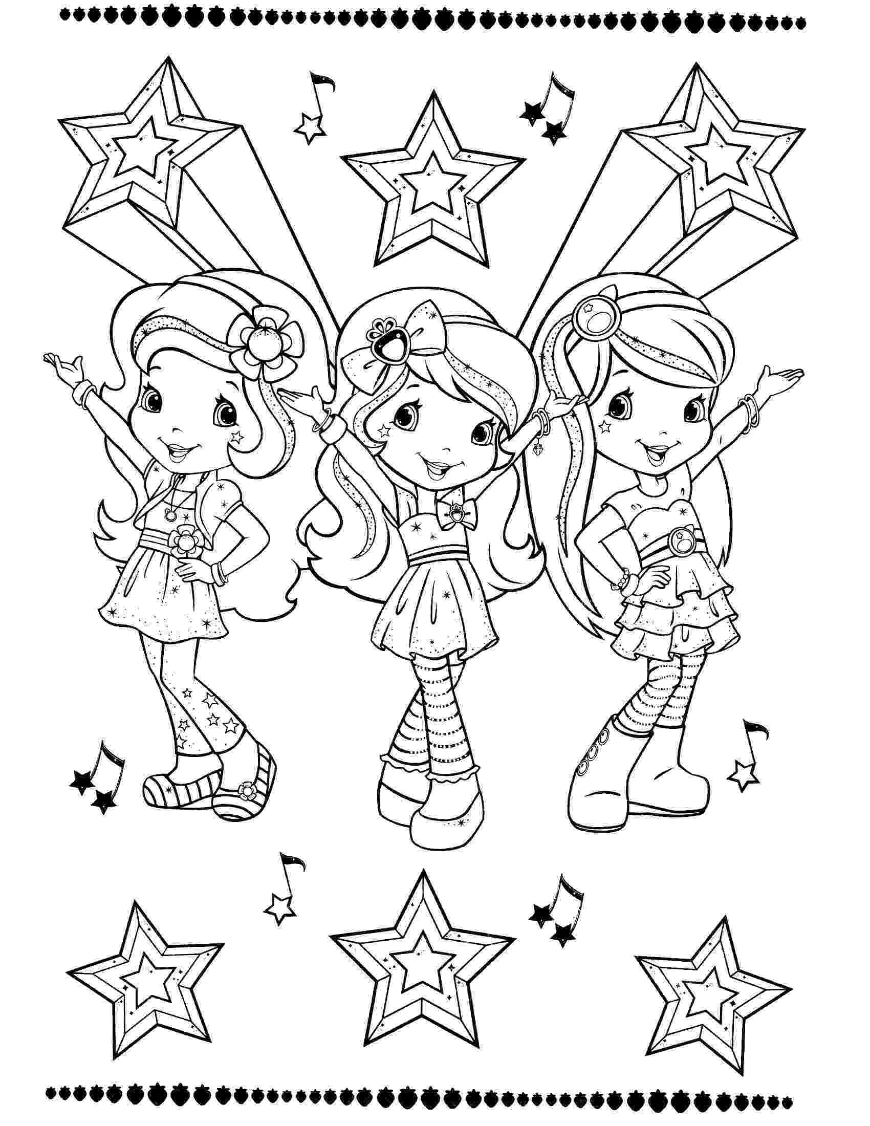 pictures of strawberry shortcake strawberry shortcake coloring page art coloring pages of pictures strawberry shortcake
