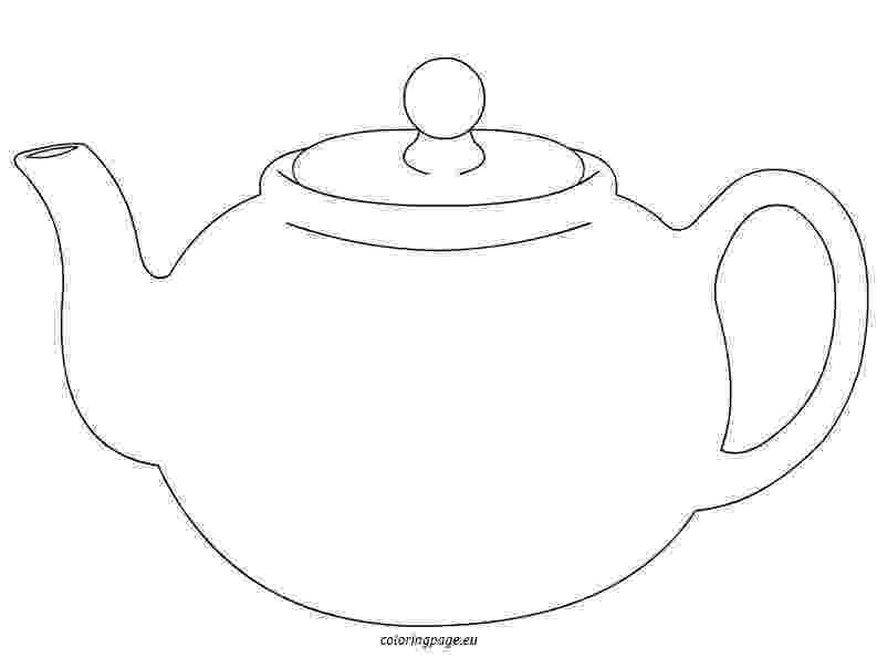 pictures of teapots to colour 17 best images about templates on pinterest piece of teapots colour of to pictures