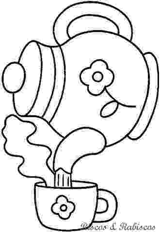 pictures of teapots to colour 62 best teapots coffee coloring pages images on colour teapots to pictures of
