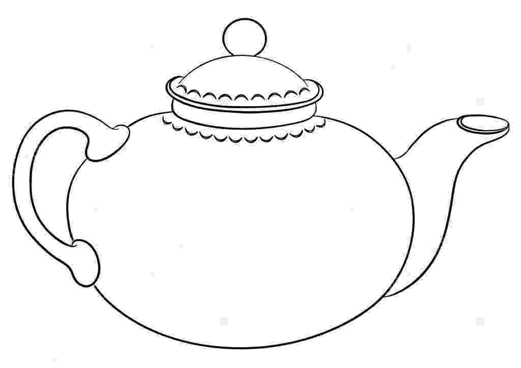 pictures of teapots to colour teapot coloring page at getcoloringscom free printable to pictures of teapots colour