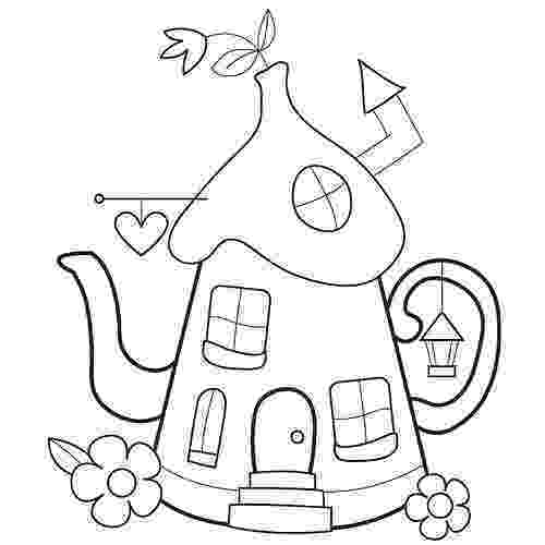 pictures of teapots to colour teapot coloring pages coloring pages to download and print of teapots colour to pictures