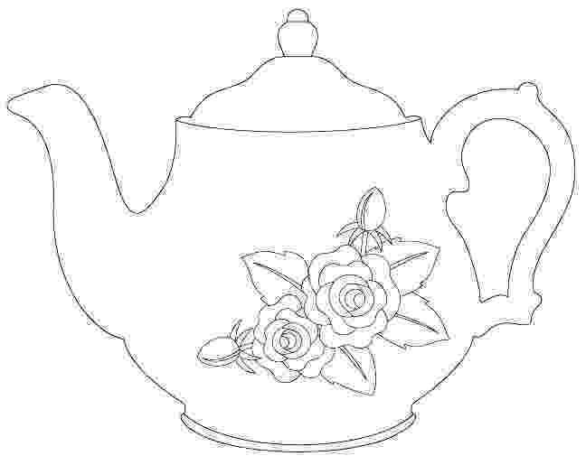 pictures of teapots to colour teapot coloring pages colour pictures to teapots of
