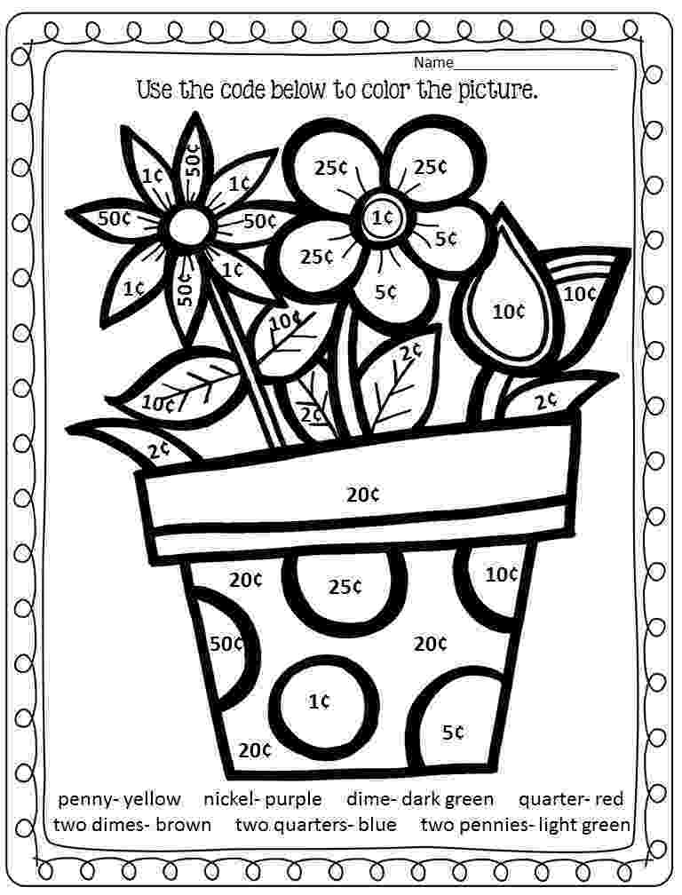 pictures to color by number 22 fun to do division color by number printables kitty to pictures color number by