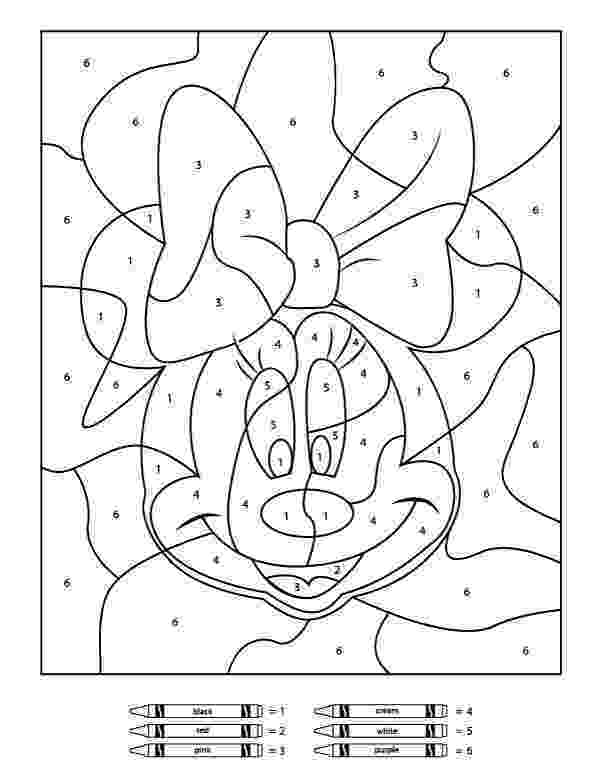 pictures to color by number your children will love these free disney color by number to number color pictures by
