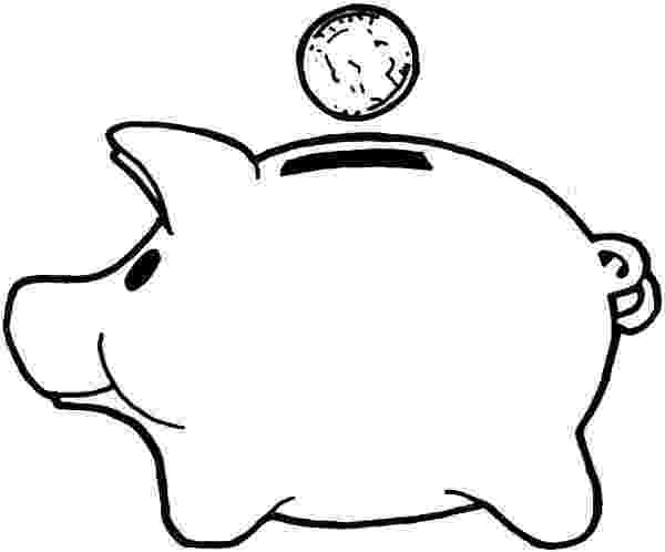 piggy bank coloring page 10 piggy bank coloring pages for your little ones bank piggy page coloring