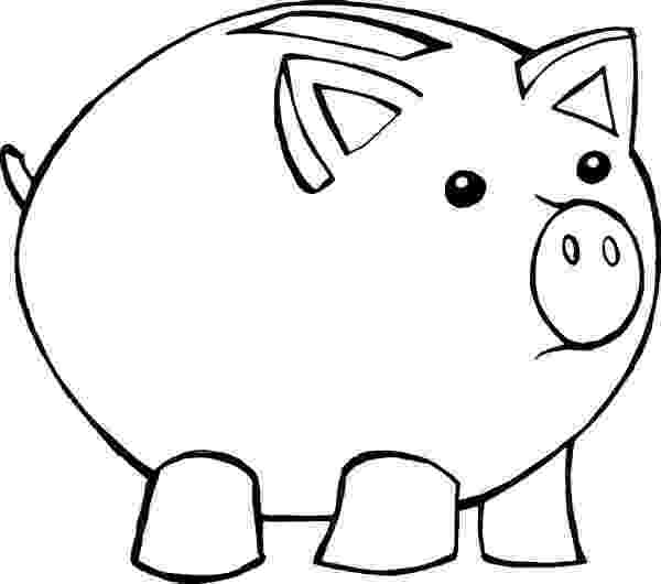 piggy bank coloring page free piggy bank template download free clip art free coloring page bank piggy