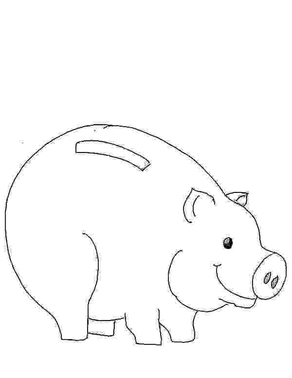 piggy bank coloring page picture of piggy bank coloring page color luna coloring bank page piggy