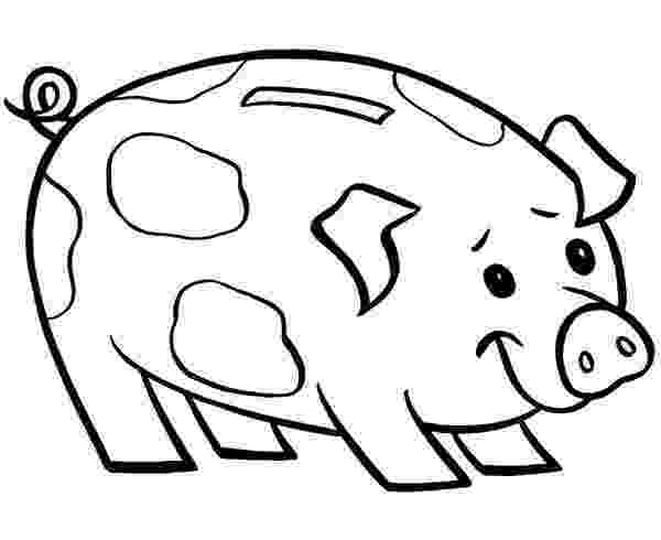 piggy bank coloring page piggy bank coloring page coloring home coloring page piggy bank