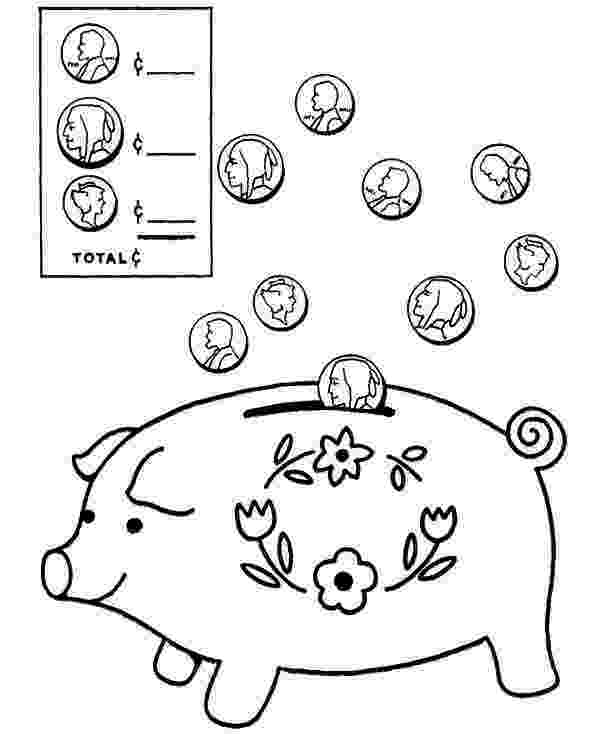 piggy bank coloring page piggy bank coloring page free printable coloring pages piggy bank page coloring