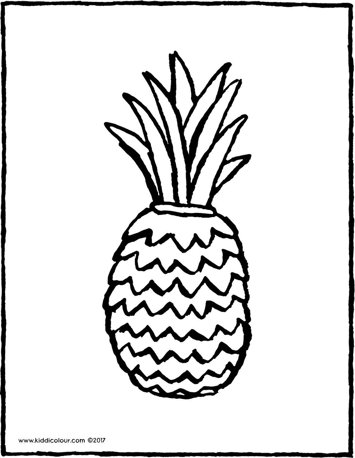 pineapple colouring picture free printable pineapple coloring pages for kids colouring pineapple picture