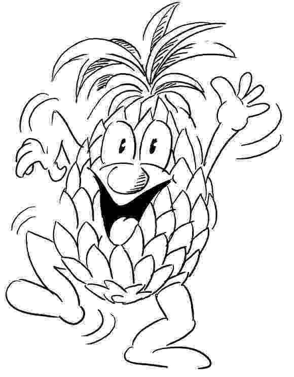 pineapple colouring picture one pineapple coloring page wecoloringpagecom pineapple picture colouring