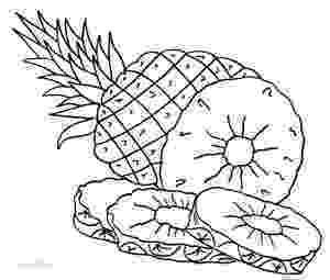 pineapple colouring picture printable pineapple coloring pages for kids cool2bkids pineapple picture colouring