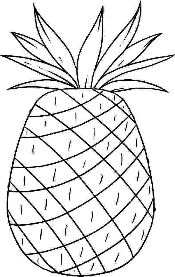 pineapple picture to color 51 best images about coloring pages on pinterest the picture to pineapple color