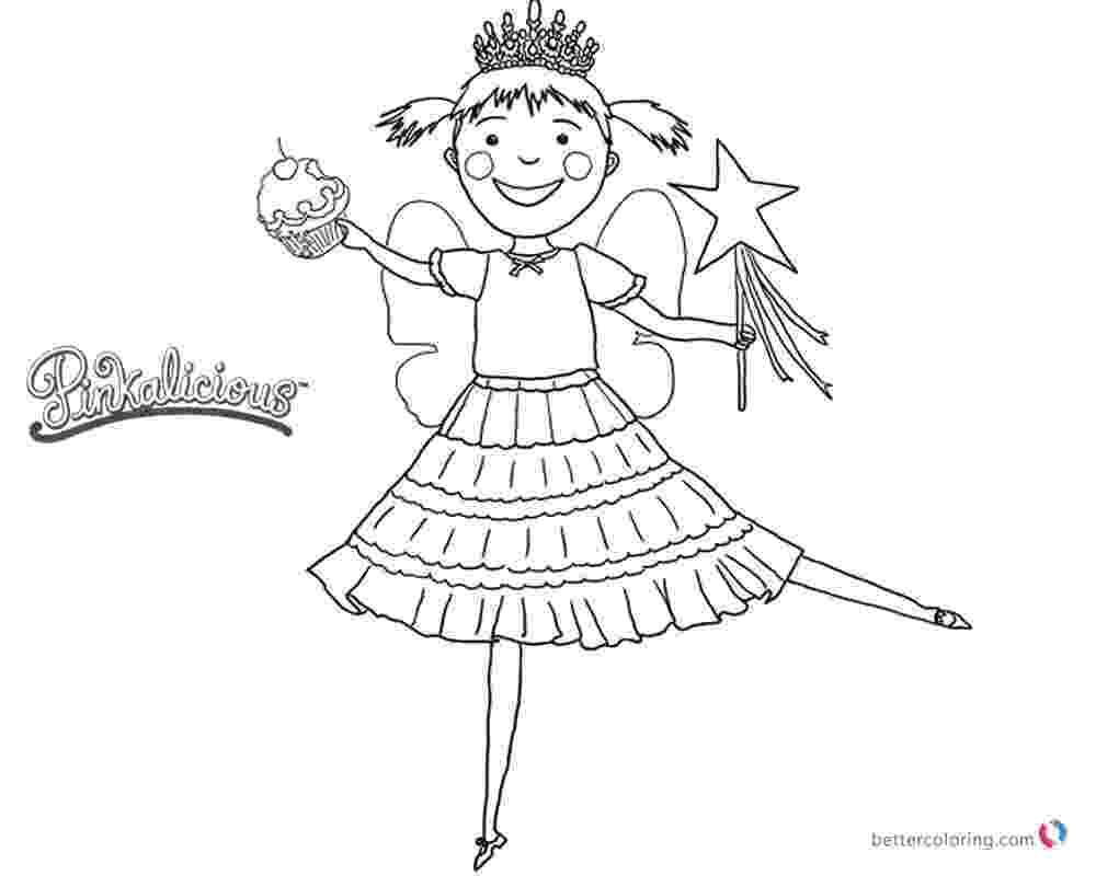 pinkalicious coloring pages free pinkalicious coloring pages dancing with cupcake free free pages pinkalicious coloring