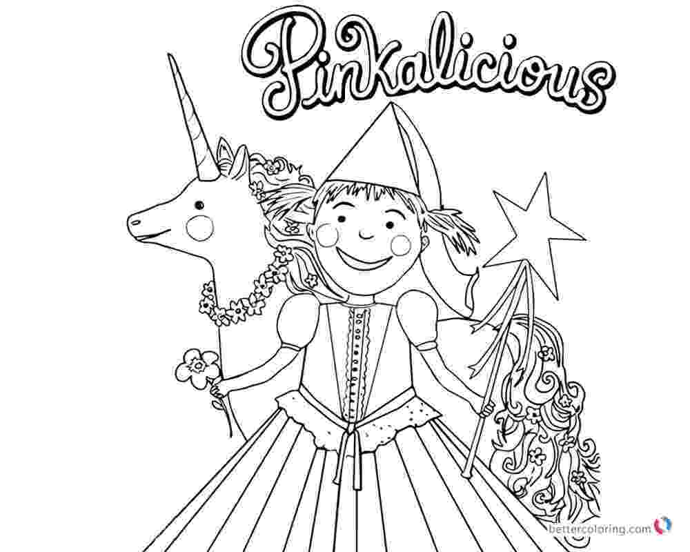 pinkalicious coloring pages free pinkalicious coloring pages with flower and unicorn free pinkalicious coloring pages free