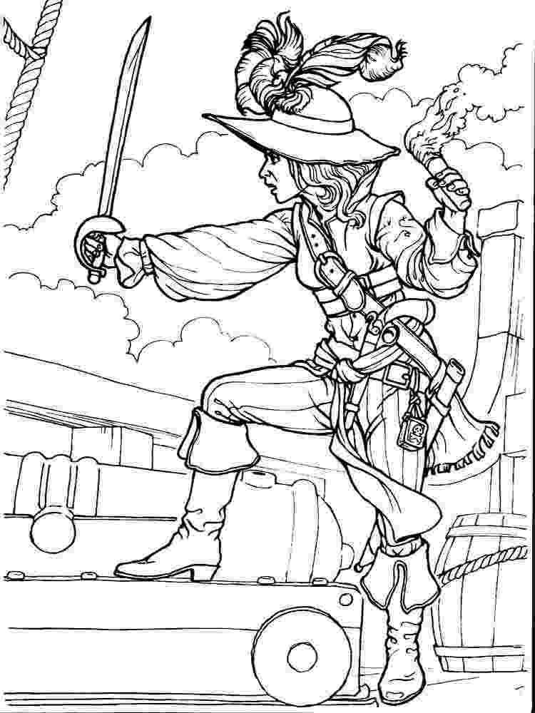 pirate coloring girl pirate coloring page worksheets and coloring pages pirate coloring