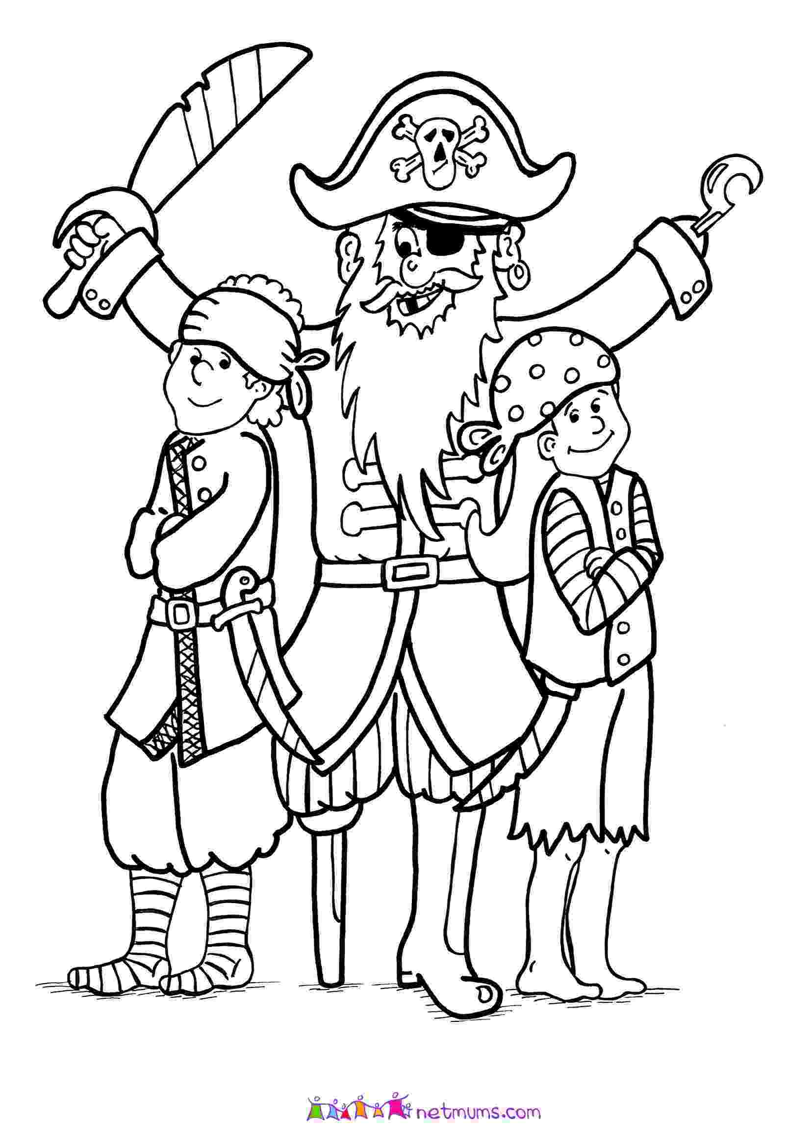 pirate coloring pirate colouring pages coloring pirate
