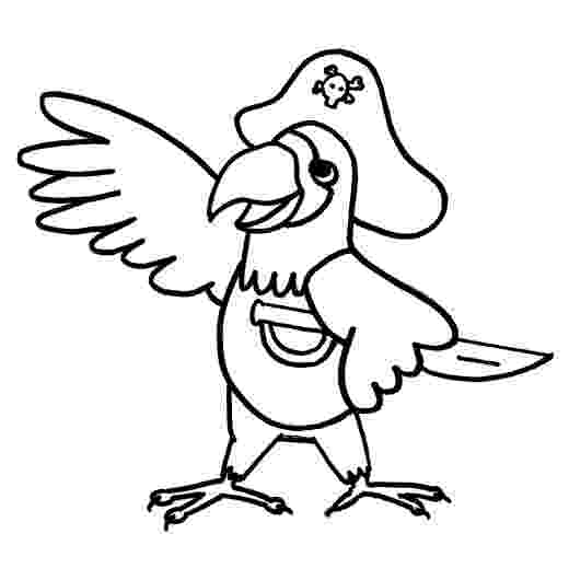 pirate parrot coloring pages awesome pirate parrot cartoon coloring page pirate pages parrot coloring pirate