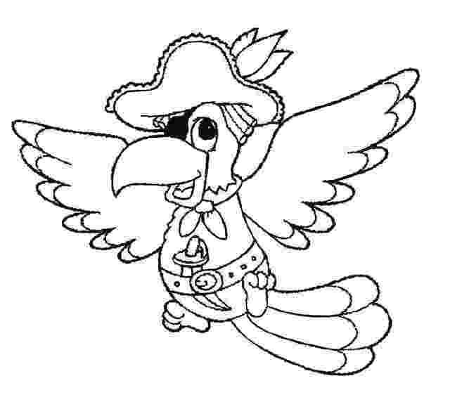 pirate parrot coloring pages parrot pirate coloring sheets for little kids coloring parrot pages pirate
