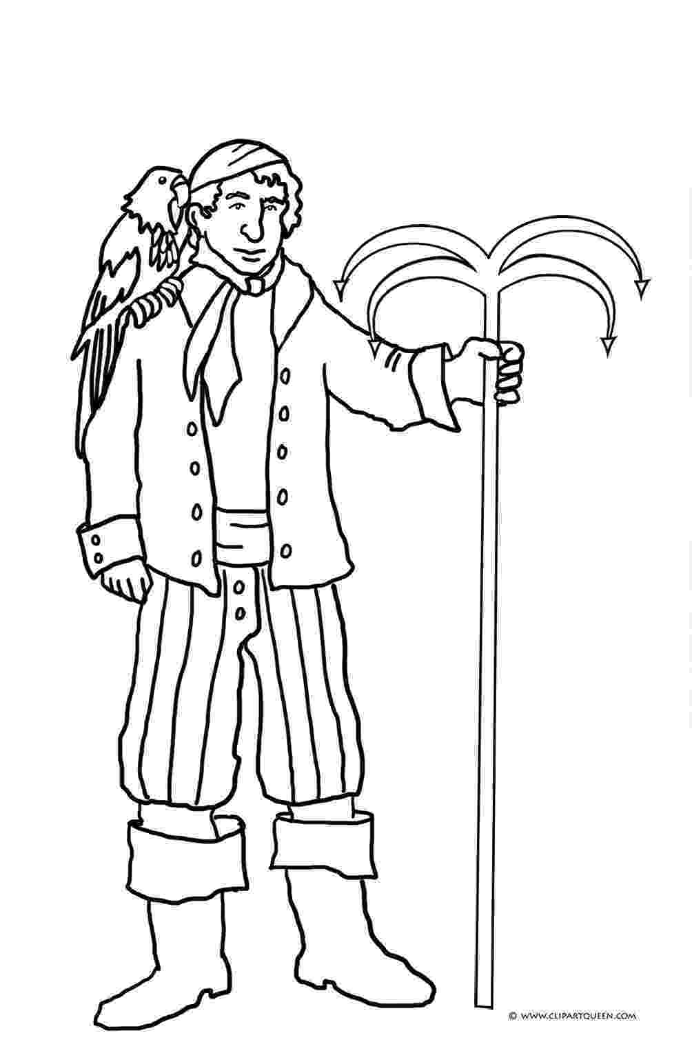 pirate parrot coloring pages pirate parrot drawing at getdrawingscom free for pirate pages coloring parrot