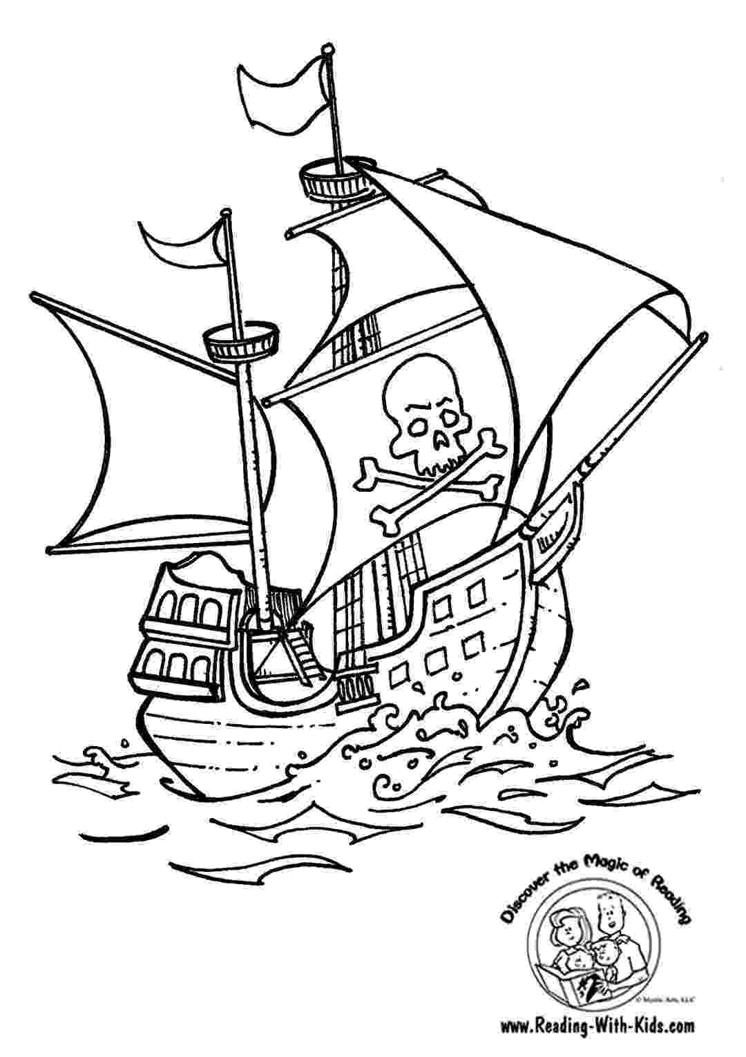 pirates coloring pages free printable pirate coloring pages for kids pages coloring pirates
