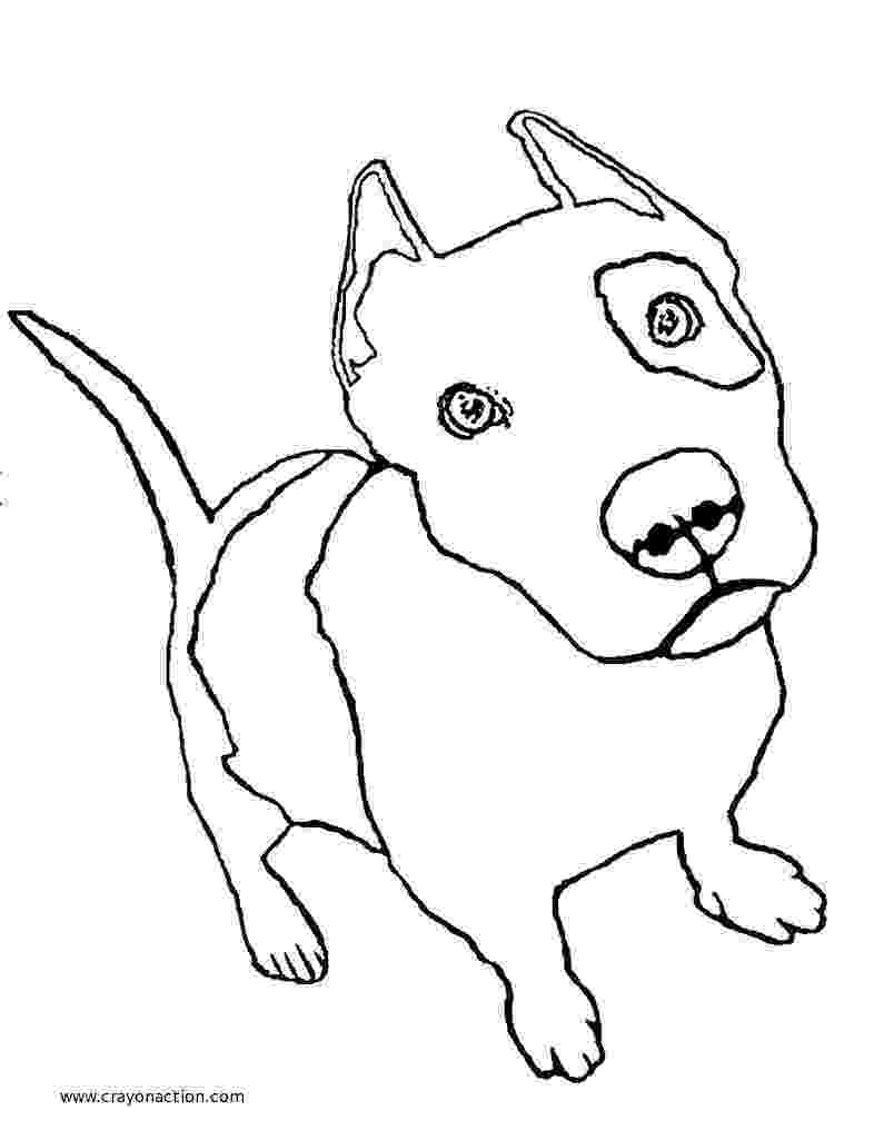 pitbull coloring pages pit bull puppy coloring page crayon action coloring pages pages coloring pitbull