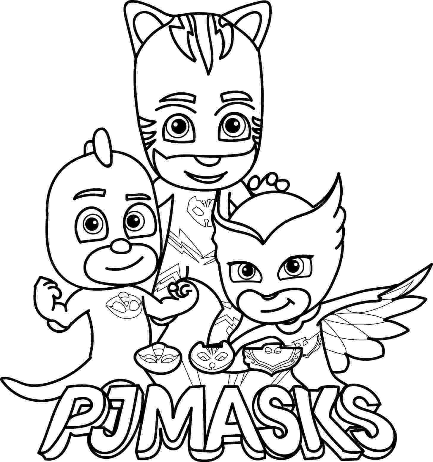 pj masks birthday cake pj masks coloring page pj masks coloring pages coloring birthday cake masks pj