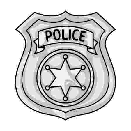 placa de policia dibujo police officer badge icon in cartoon style isolated on dibujo policia placa de