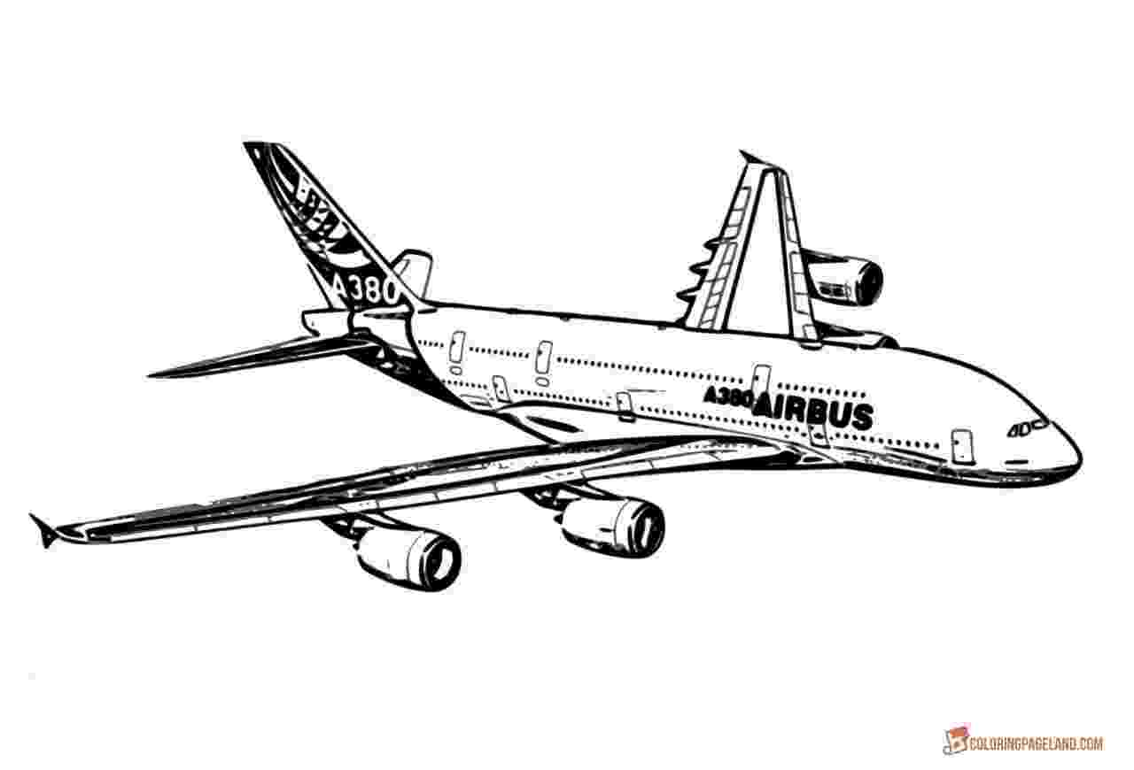 plane coloring page airplane coloring pages free printable bw pictures coloring plane page