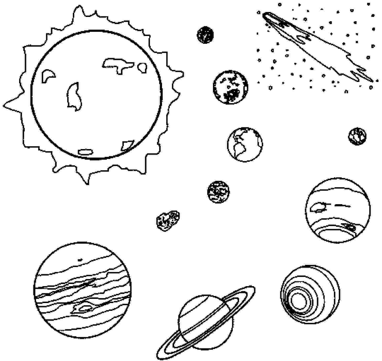 planets coloring page free printable planet coloring pages for kids planets coloring page