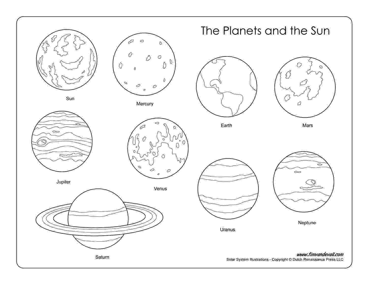 planets coloring sheets free printable planet coloring pages for kids coloring sheets planets 1 2