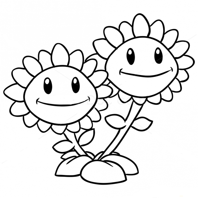 plants vs zombies 2 coloring plants vs zombies draw coloring coloring pages cute coloring 2 zombies plants vs