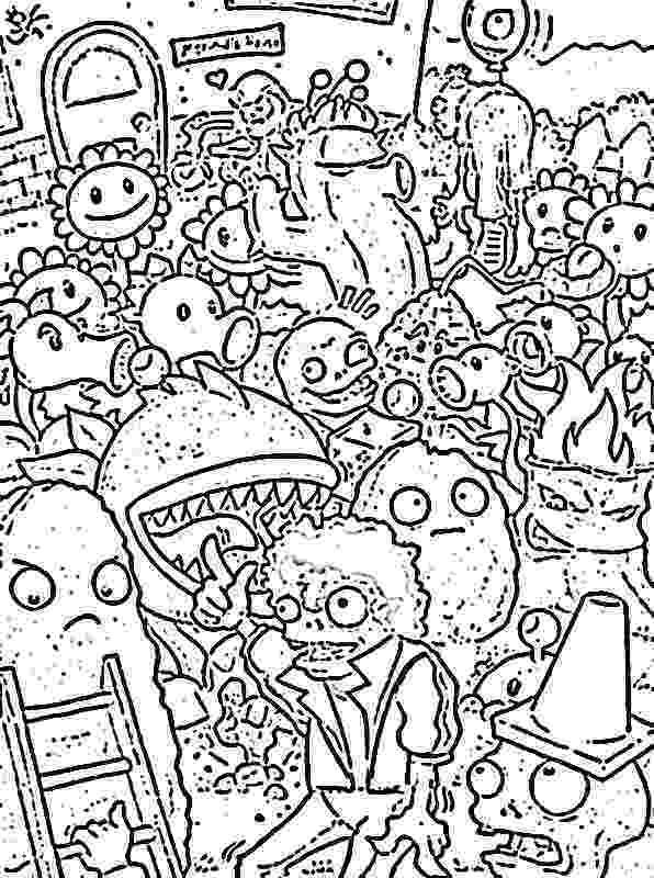 plants vs zombies balloons free plants vs zombies coloring pages zombies balloons vs plants