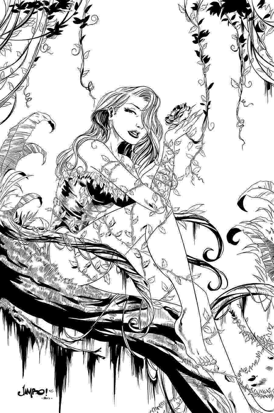 poison ivy coloring page coloring for adults kleuren voor volwassenen wood page coloring ivy poison