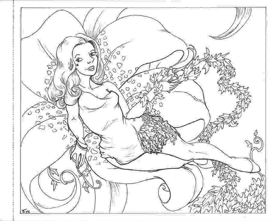 poison ivy coloring page cool poison ivy girl batman coloring page batman coloring ivy page poison