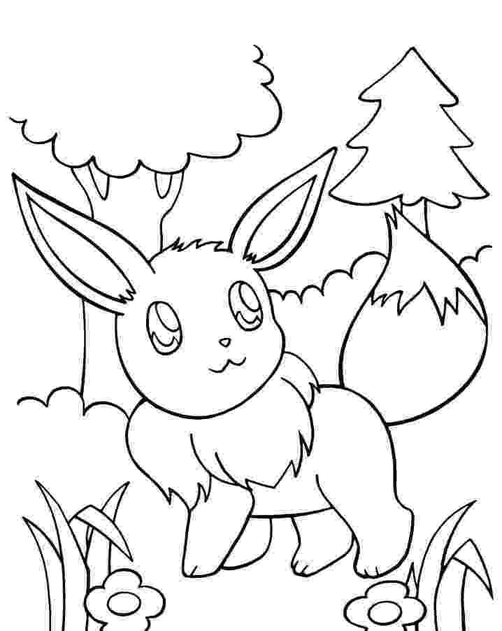 pokemon coloring pages eevee evolutions eevee pokemon coloring pages getcoloringpagescom eevee coloring evolutions pokemon pages