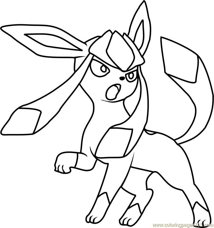 pokemon coloring pages eevee evolutions glaceon eevee mega pokemon coloring pages pokemon eevee evolutions eevee coloring pokemon pages glaceon evolutions