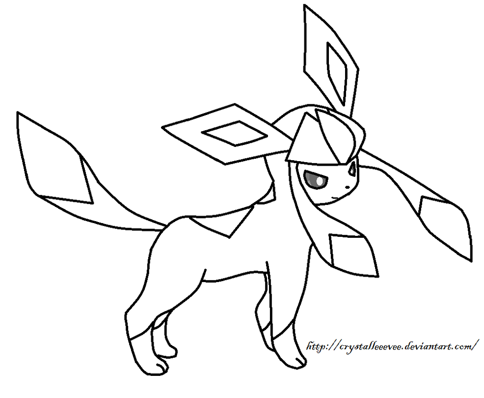 pokemon coloring pages eevee evolutions glaceon eevee pokemon coloring pages getcoloringpagescom glaceon pages pokemon coloring evolutions eevee