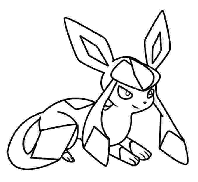 pokemon coloring pages eevee evolutions glaceon glaceon coloring page 2 by bellatrixie white on deviantart pages eevee coloring glaceon pokemon evolutions