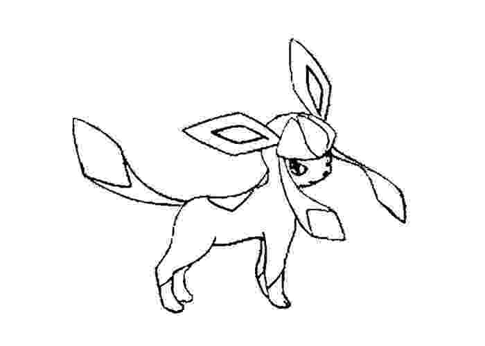 pokemon coloring pages eevee evolutions glaceon glaceon pokemon coloring pages evolutions glaceon eevee pages coloring pokemon